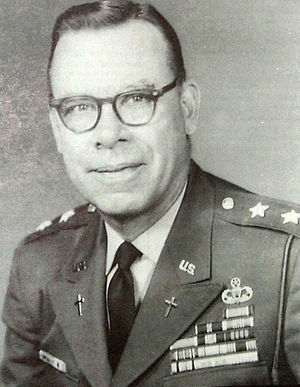 Francis L. Sampson - Major General Francis L. Sampson 12th Chief of Chaplains of the United States Army