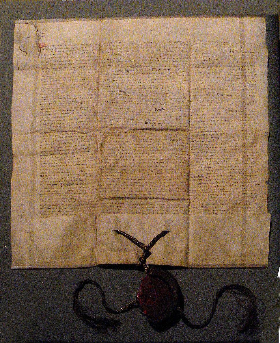 Franco Hungarian Treaty of Alliance 1529