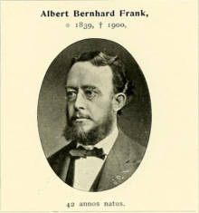 Portrait of A. B. Frank