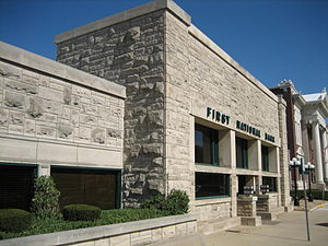 Dwight, Illinois - Frank Lloyd Wright's Frank L. Smith Bank in Dwight