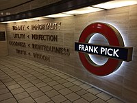 Frank Pick memorial at Piccadilly Circus (30677682630).jpg