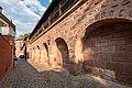 Frauentormauer 5, Mauerturm Blaues T Nürnberg 20180723 001.jpg