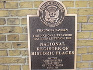Fraunces Tavern and National Register of Historic Places