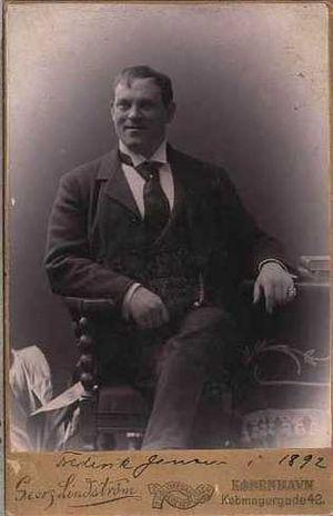Frederik Jensen - Jensen in 1892