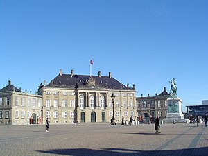 Nicolai Eigtved - Christian IX's Palace at Amalienborg
