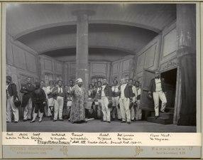 Fregattkaptenen, Dramatiska teatern 1900. Föreställningsbild - SMV - H11 058.tif
