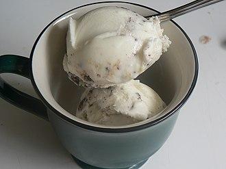Frozen yogurt - Tart flavored frozen yogurt