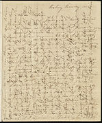 From Caroline Weston to Deborah Weston; Tuesday, June 1, 1841%3F p1