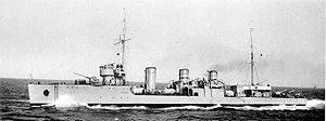 Derzky-class destroyer - Destroyer Frunze