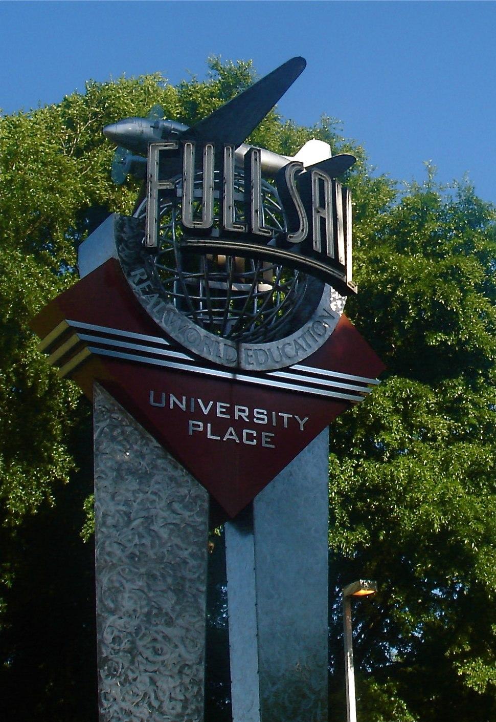 Full sail university sign