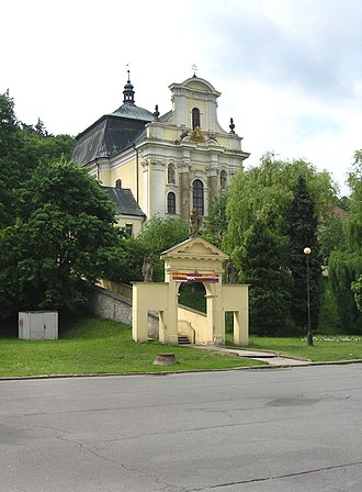 Fulnek - Image: Fulnek, Most Holy Trinity Church