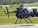 G-CODA Hughes 500 Helicopter (26152691574).jpg