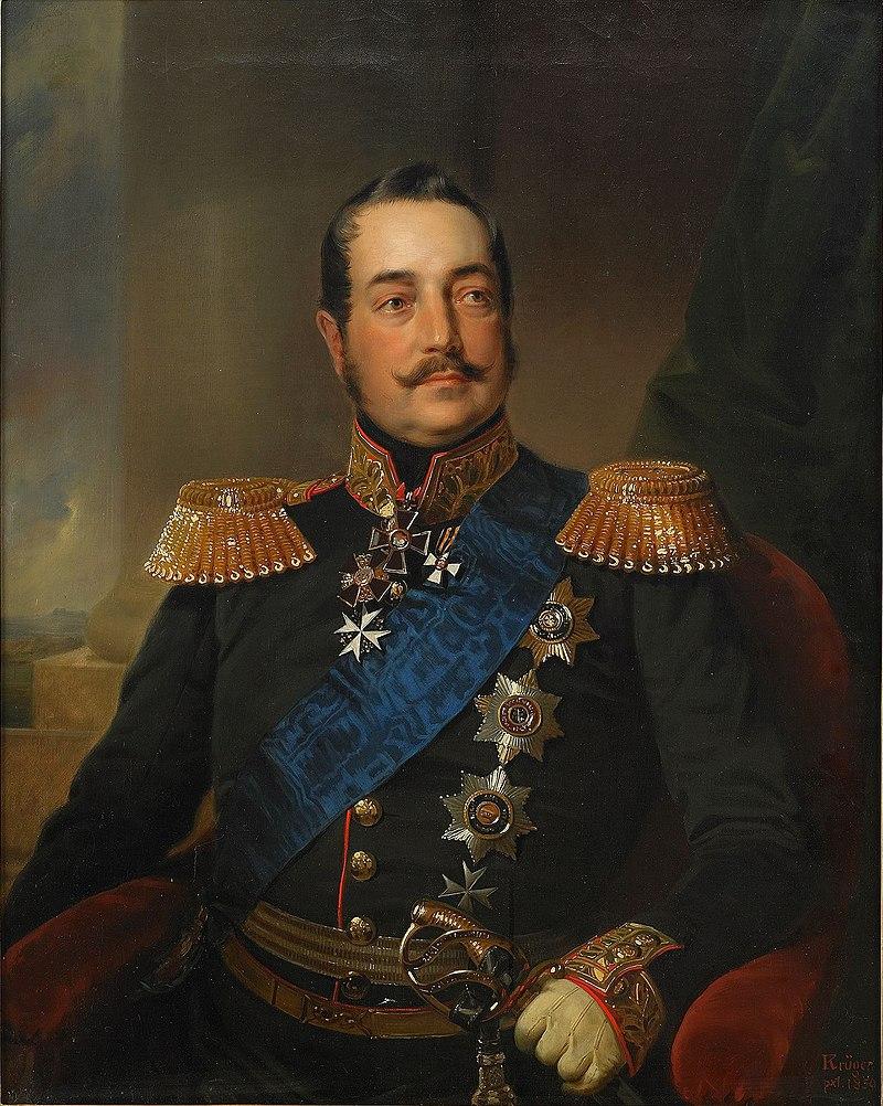Художник Франц Крюгер, 1850 год