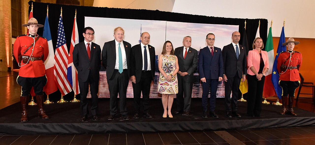 G7 Foreign Ministers in Toronto, Canada - 2018 (39827483110).jpg