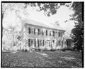 GENERAL VIEW OF FRONT, AUTUMN - Bishop John Early House, Lynchburg, Lynchburg, VA HABS VA,16-LYNBU,82-1.tif