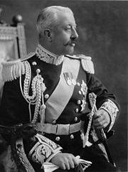 Until the 1970s, Governors General wore the Windsor uniform, a form of court dress which resembles military uniform, as depicted in the above photograph of the Duke of Devonshire, Governor General of Canada from 1916 until 1921.
