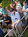 GMU Mason Votes Veteran at the Obama-Biden Rally (2893310413).jpg