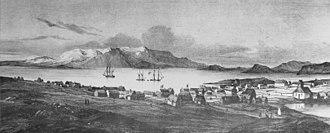 Danish colonial empire - Reykjavík in 1835
