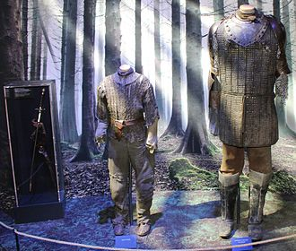 Arya Stark - Image: Game of Thrones Oslo exhibition 2014 Arya's and the Hound's costumes
