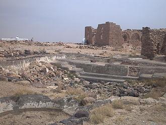 Abdul Muttalib (Dai) - Garave mosque, pond etc. on hill top