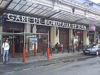 railway station in Bordeaux, France