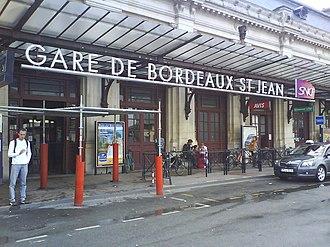 Gare de Bordeaux-Saint-Jean - Gare de Bordeaux-Saint-Jean front