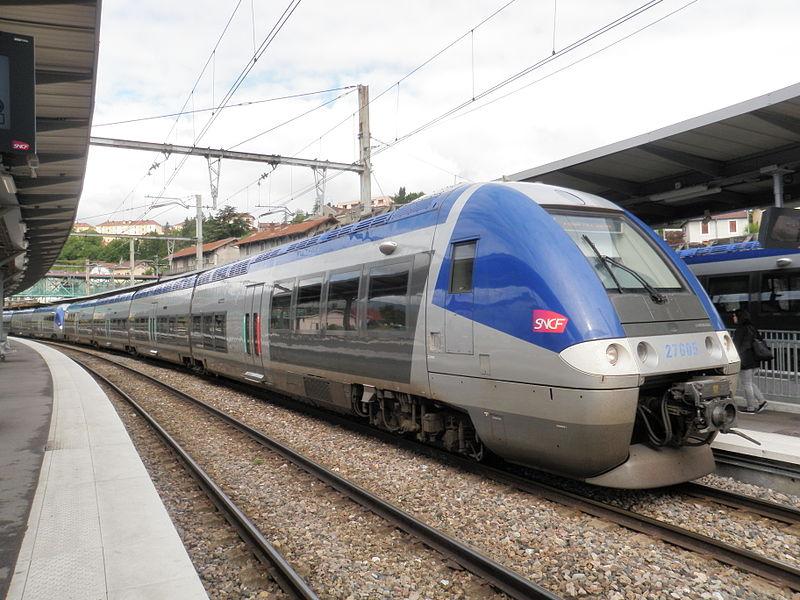 Z 27605 en gare de Bellegarde