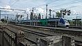 Gare SGF, 2 AGC pour Clermont-Ferrand 2014-06-26.JPG