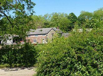 Tyldesley - Garrett Hall is now a farmhouse