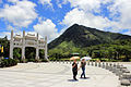 Gate and Mount Ngong Ping.JPG