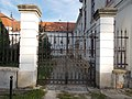 Gate of the northern courtyard. - Royal Palace of Gödöllő.JPG
