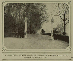 Polesden Lacey - Image: Gateway to The Terrace, Polesden Lacey 1923