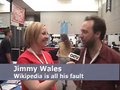 Geek Entertainment TV - Irina Slutsky and Jimmy Wales.png