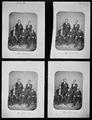 Gen. John B. Magruder, C.S.A., Gen. Sterling Price, C.S.A., Gen. Cadmus M. Wilcox, Gen. Thomas C. Huidman, Gen.... - NARA - 526343.tif