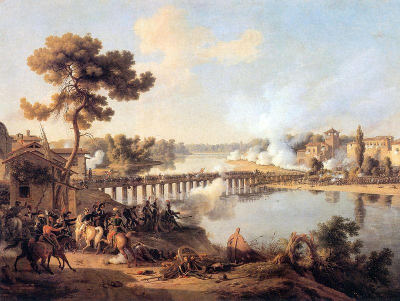 """Битва у Лоди"", художник - Louis-François, Baron Lejeune."