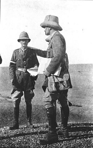Alexander Cobbe - Lieutenant General Sir Alexander Cobbe in Iraq, late 1917