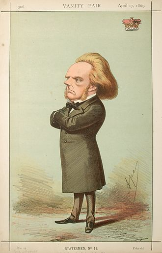 George Campbell, 8th Duke of Argyll - 1869 caricature of the Duke of Argyll by Carlo Pellegrini
