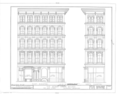George Gordon Building, 300 Arch Street, Philadelphia, Philadelphia County, PA HABS PA,51-PHILA,258- (sheet 2 of 4).png