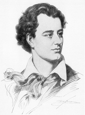 Baron Byron - The poet George, Lord Byron