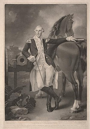 Thomas Stothard - General Washington, Dallas Museum of Art