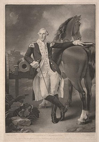 Thomas Stothard - General Washington, Dallas Museum of Art