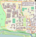 Georgetown university campus map.PNG