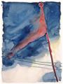 Georgia O'Keeffe, The Flag, watercolor, 1918, MAM.tif