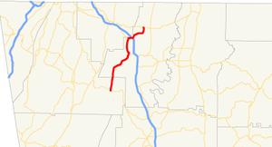 Georgia State Route 201 - Image: Georgia state route 201 map