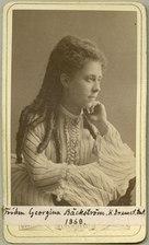 Georgina Bäckström, porträtt - SMV - H2 050.tif