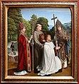 Gerard david, il canonico bernardino salviatio e tre santi, 1501, 01.jpg