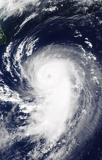 Timeline of the 2017 Atlantic hurricane season - Gert as a Category 1 hurricane on August 15