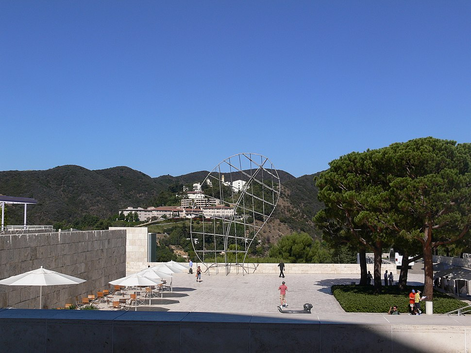 Getty Center view 2008