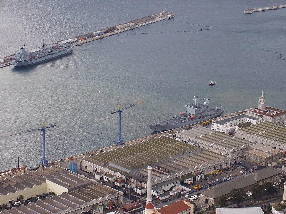 Gibraltar navy