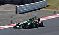 Giedo van der Garde Caterham 2013 Silverstone F1 Test 007.jpg